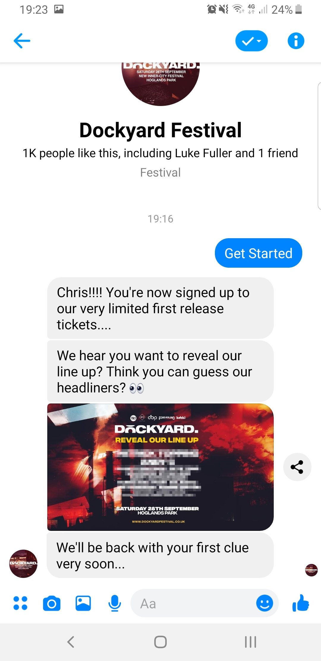 New UK Dockyard Festival announced, in a really interesting way... 3