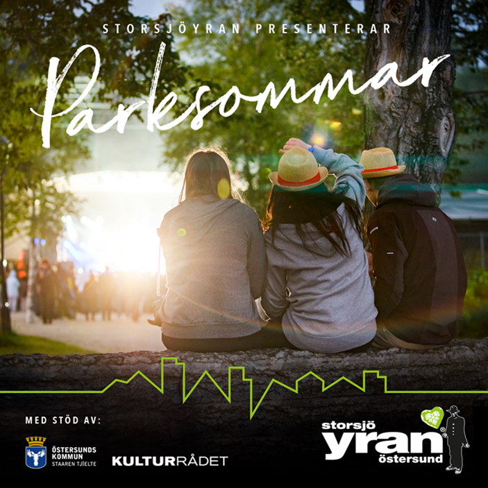 Storsjöyran presents Park summer - ten concert nights in Badhusparken 1