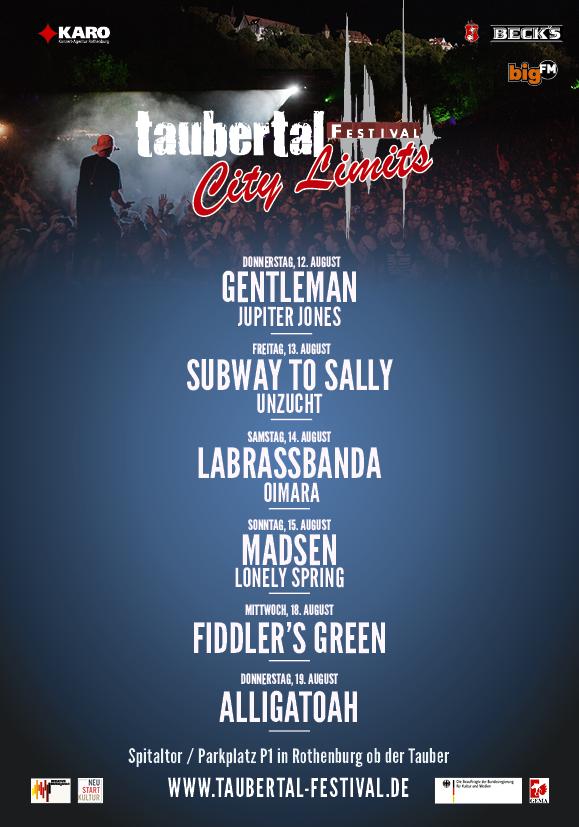 """Taubertal-Festival announces """"City Limits"""" 2"""