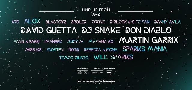 Summerburst festival: David Guetta, Martin Garrix, DJ Snake and Don Diablo to headline Summerburst 2