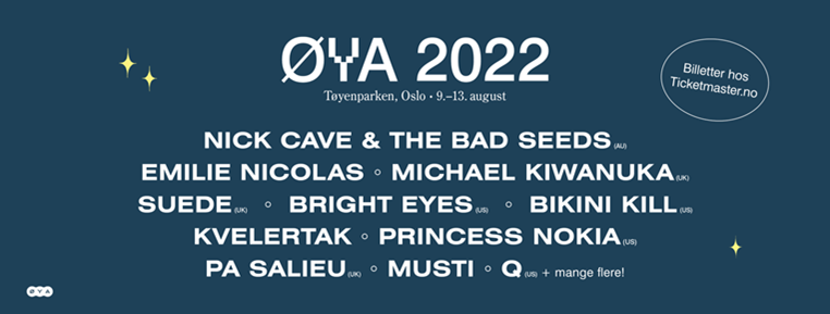 Øya 2022: Ten new names added 2